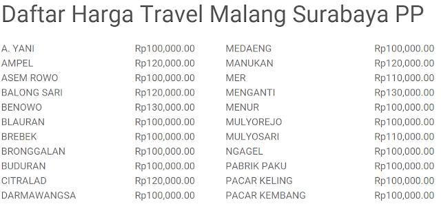 Travel Malang Juanda? Pilih Nahwa Travel, Bukan yang Lain