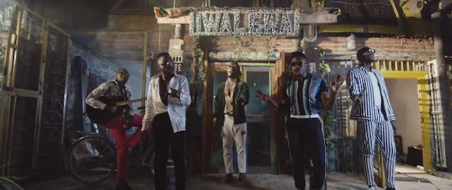 Sauti Sol Ft Burna Boy - Afrikan Star Video