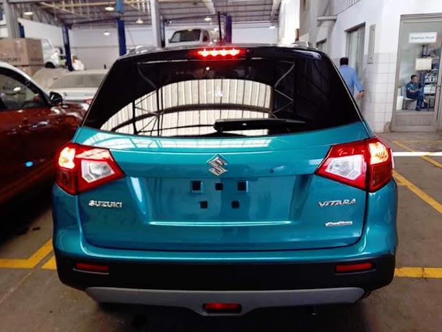 Suzuki Vitara suv spied
