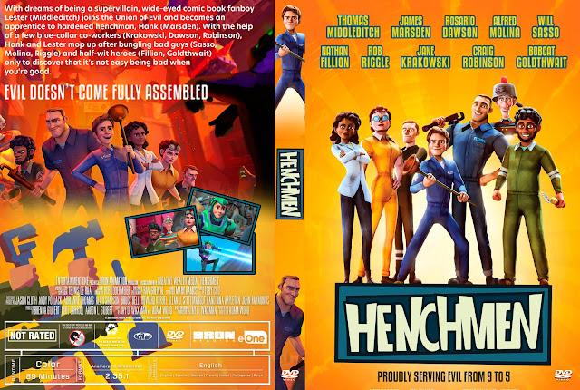 Henchmen DVD Cover