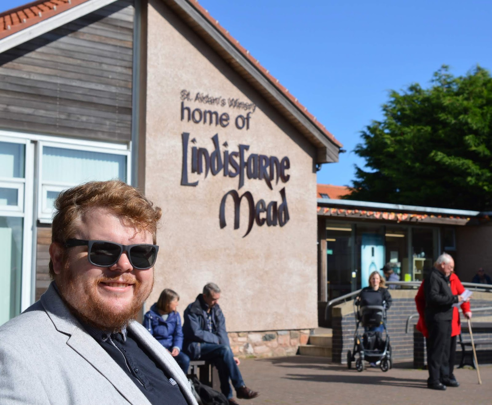 The Holy Island of Lindisfarne, Northumberland - what to see and do during a half day visit - lindisfarne mead shop