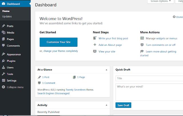 Cara Memasang Wordpress Di XAMPP 25