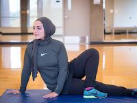 Baju Fitnes Muslimah