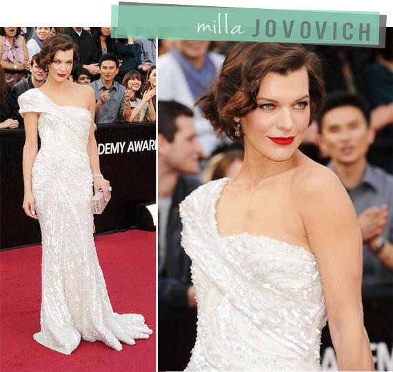 Milla Jovovich Oscars