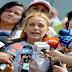 VÍDEO: Increíble - Lilian Tintori manifestó estar lista y dispuesta a trabajar de la mano con el gobierno de Nicolas Maduro