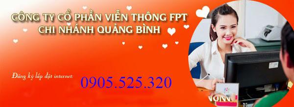 Lắp Đặt Internet FPT Xã Quang Phú, Tp Đồng Hới