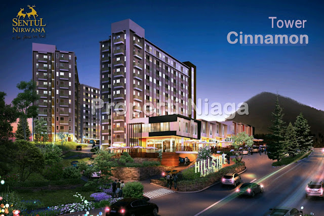 View-Hillside-Apartment-Tower-Cinnamon-Sentul-Nirwana