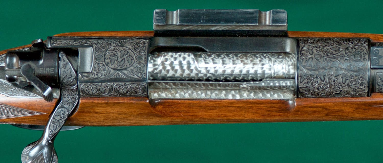 Tincanbandit S Gunsmithing Jeweling A Rifle Bolt