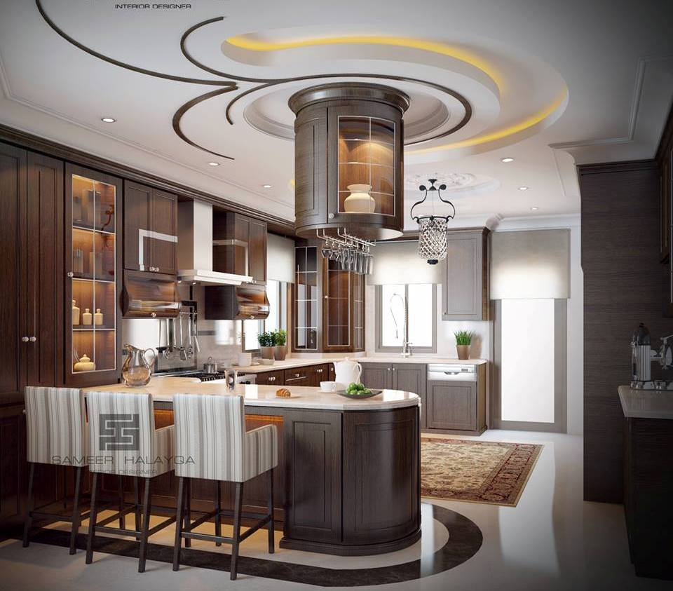 Grey Bedroom Decor Ideas Bedroom Design Ideas For Apartments Bedroom Decor Examples Gypsum Board Bedroom Ceiling Design: Creative Divider Design Ideas Between Open Kitchen And