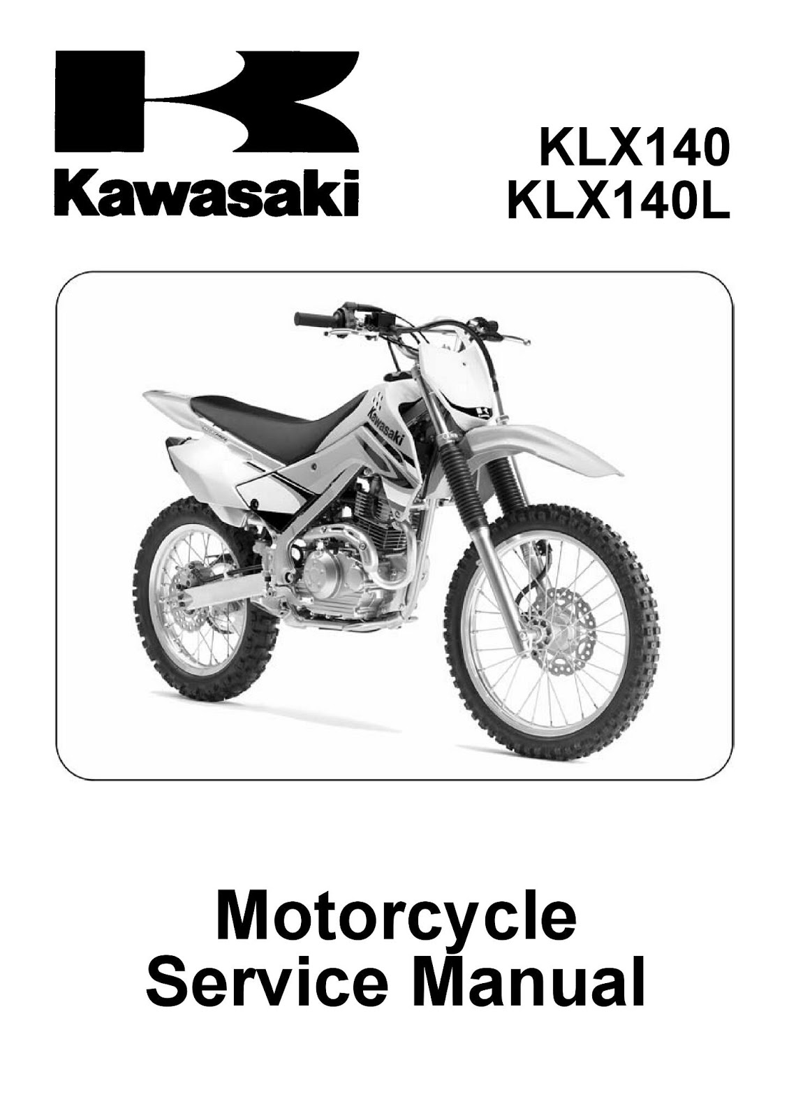 Klx150 Tips Trik And Share Service Manual Kawasaki Klx 140