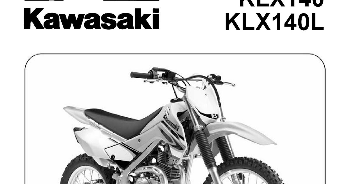 KLX150 Tips, trik and share: Service manual kawasaki klx 140