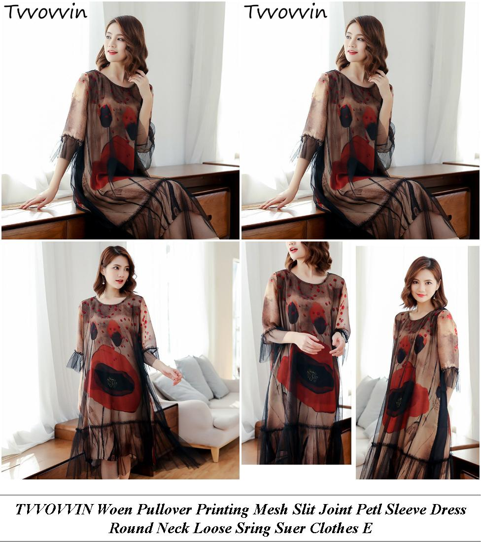 Plus Size Semi Formal Dresses - Items On Sale - Long Sleeve Dress - Cheap Clothes Online Uk
