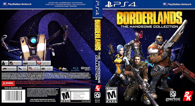 Capa Borderlands The Handsome Collection PS4