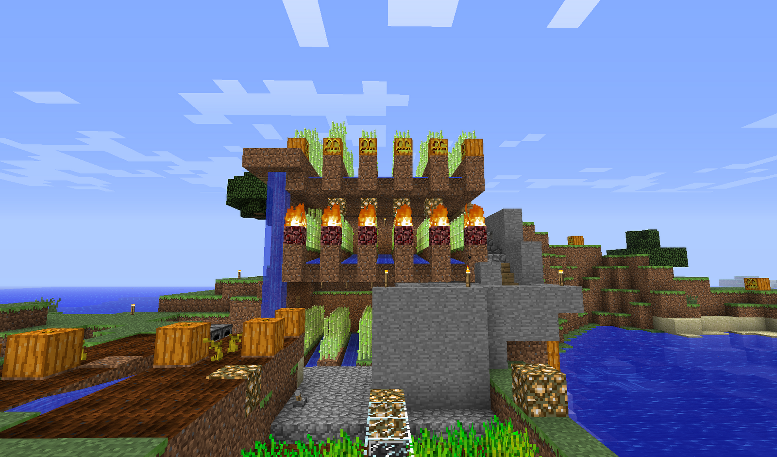 Minecraft Building Ideas: Farming