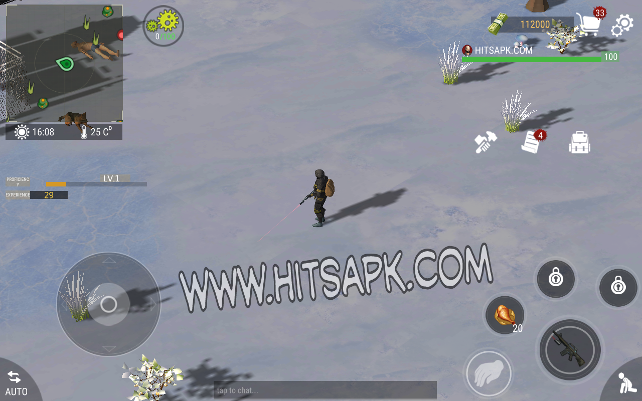 WarZ Law of Survival MOD APK terbaru