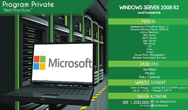 Alfian Bob - Program Private Windows Server