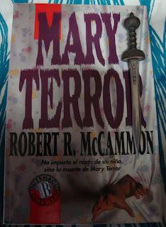 Portada del libro Mary Terror, de Robert R. McCammon