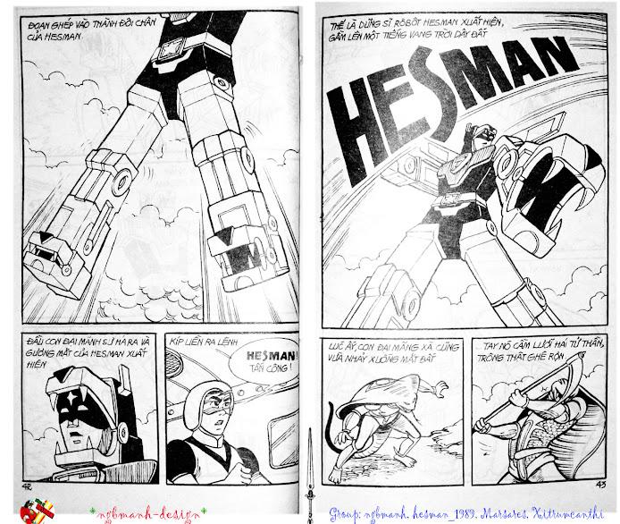 Dũng Sĩ Hesman tập 3 - mãng xà giả dạng trang 23