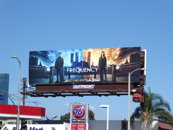 Frequency TV remake billboard