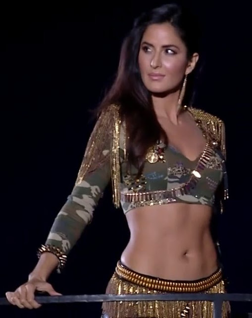 Katrina Kaif performed during the opening night of the Indian Premier League held at The Dome in Mumbai