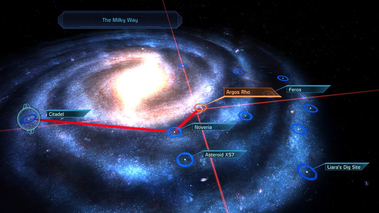 Mass Effect Star Map.Super Adventures In Gaming Mass Effect Pc Part 2