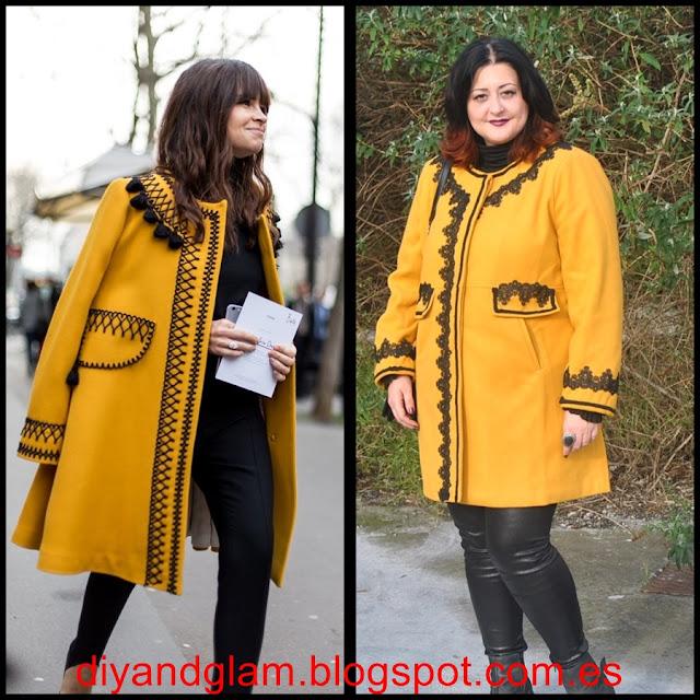 DIY Transformar un abrigo básico