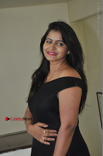 Telugu Actress Swathi Reddy Latest Stills in Black Gown  0043.JPG