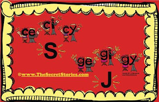 Secret Stories® Phonics— C E, CI CY/ GE, GI, GY