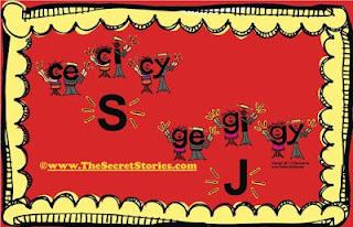 Secret Stories® Phonics— C E, CI CY/ GE, GI, GY