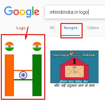 inhindiindia.in logo google search