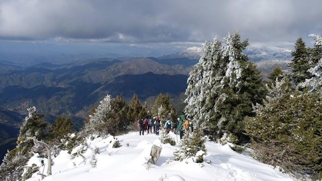 Η Πορεία της Κυριακής 20 Ιανουαρίου 2019 του ορειβατικού Ιωαννίνων