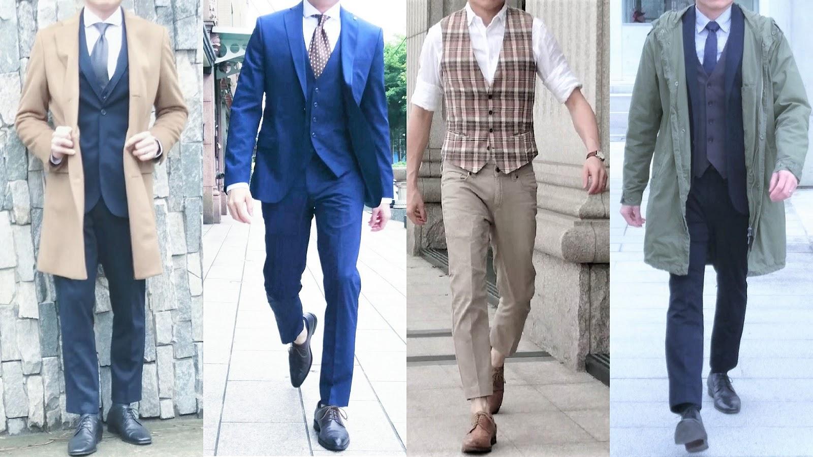 依適用場合的不同,為大家介紹與示範三種不同但皆得體且超有型的上班族穿搭風格。
