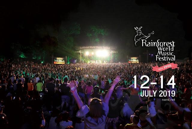 Rainforest World Music Festival 2019; Festival Musik  yang Tak Boleh Dilewatkan
