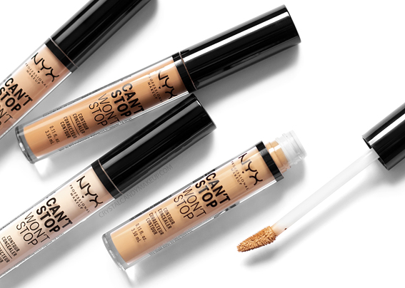 NYX Can't Stop Won't Contour Concealer Review Applicator