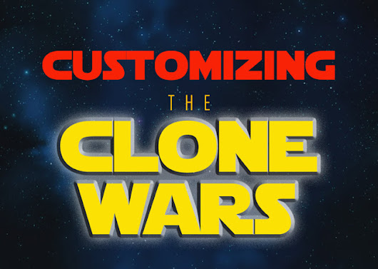 """CUSTOMIZING THE CLONE WARS"" - EPISODE 50"