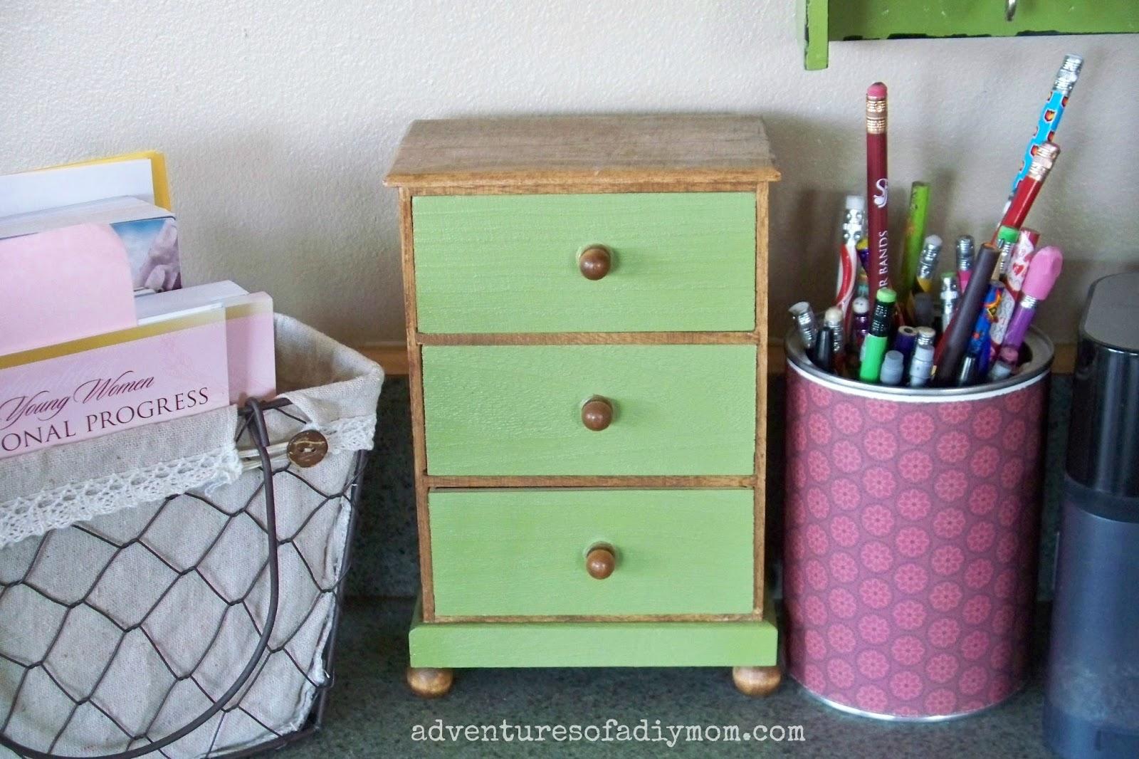 Mini Wooden Dresser