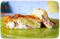 Τυρόπιτα με πράσινη πιπεριά και μπέικον - by https://syntages-faghtwn.blogspot.gr