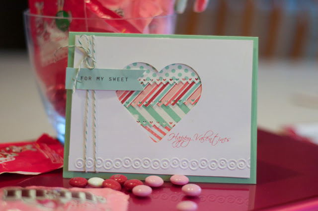 Lorrie S Story Valentine Card With Silhouette Cameo