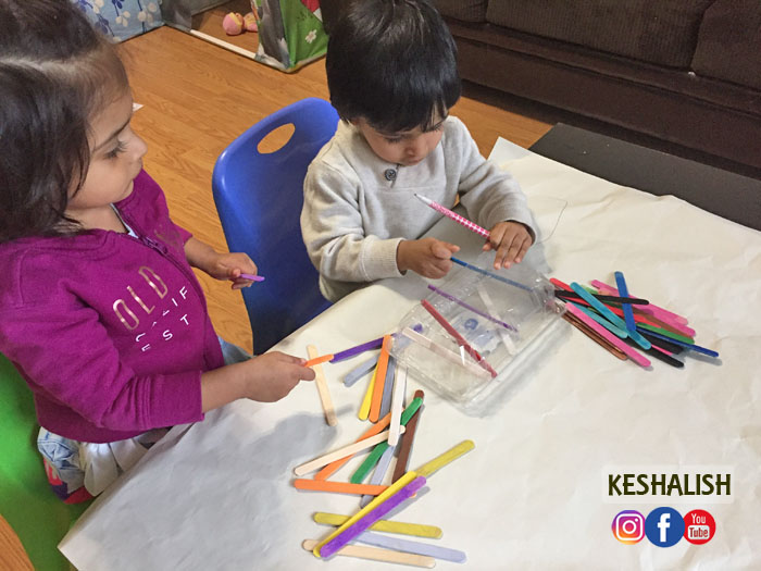 keshalish popsicle stick activity for toddlers activity ideas for