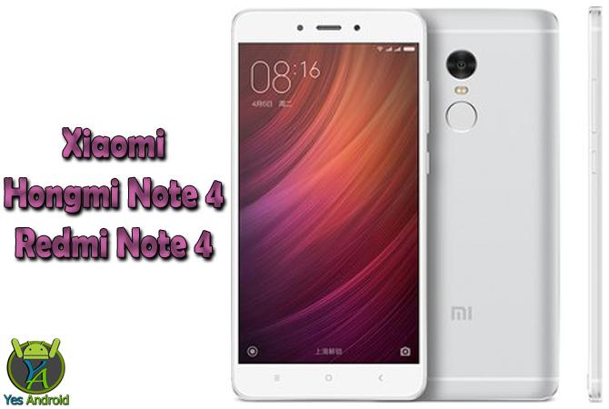 Xiaomi Hongmi Note 4 / Redmi Note 4 Dual SIM TD-LTE 64GB Full Specs Datasheet
