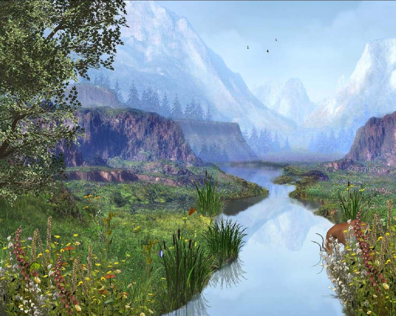 Deanne Morrison: river background