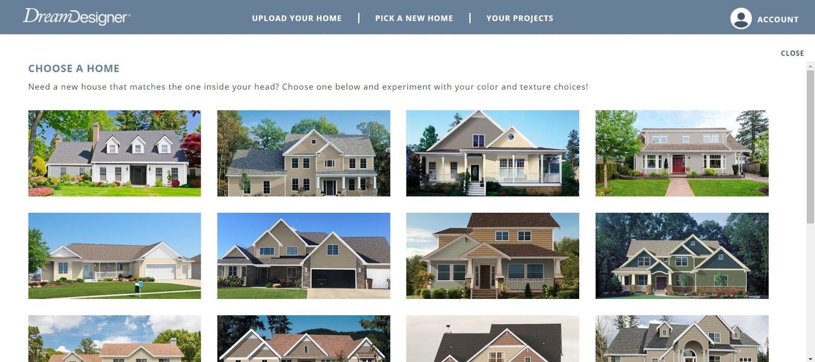 Mimiberry Creations Fun And Free Website That Allows You To Change Your Home S Exterior