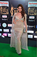 Tanya Hope Charming Beautiful Yioung Fresh Face in Designer Gown at IIFA Utsavam Awards 2017  Day 2  Exclusive 02.JPG