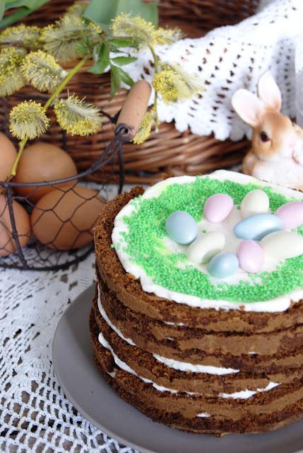 przepisy wielkanoc, ciasto marchewkowe, tort marchewkowy, zdrowy tort, warzywne ciasto, ciasto marchewkowe de luxe, najlepsze ciasto marchewkowe