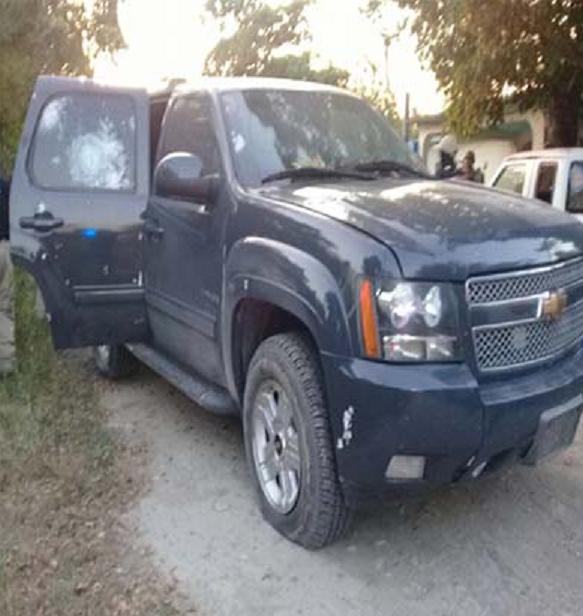 """VIDEO; Zetas se dan """"topon"""" con policías y muere un líder Zeta """"El Calo"""" en Tamaulipas"""