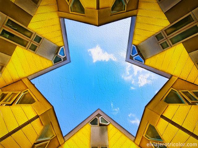 Fotos de Roterdam y su extraña arquitectura