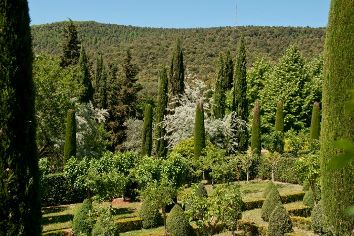 Villa cetinale un palacio toscano del siglo xvii con unos for Jardin villa ale aguascalientes