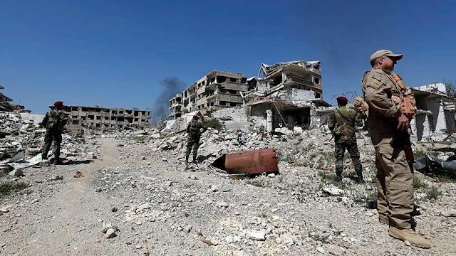 Siria informa que derribó varios misiles de Israel