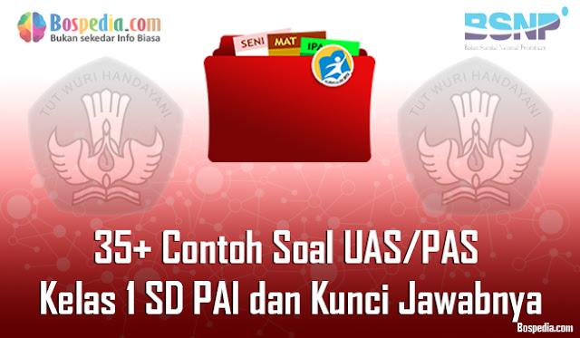 35+ Contoh Soal UAS/PAS Kelas 1 SD PAI dan Kunci Jawabnya Terbaru