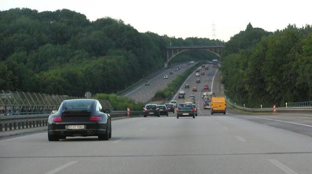 De carro de Berlim até Hamburgo